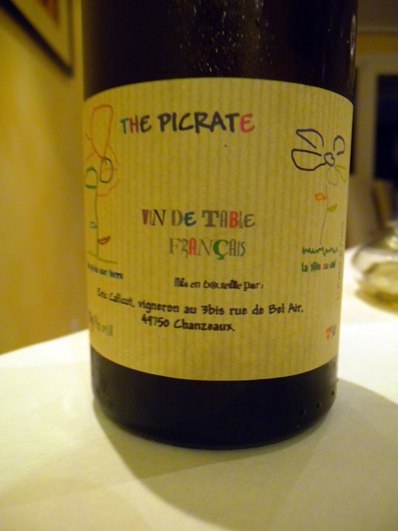 The Picrate Paradis 1998 d'Eric Calcutt