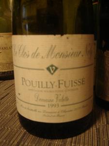 Valette Pouilly Fuissé 1993