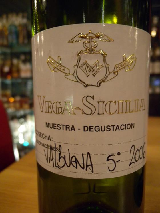 Vega Sicilia Valbuena 5° 2006