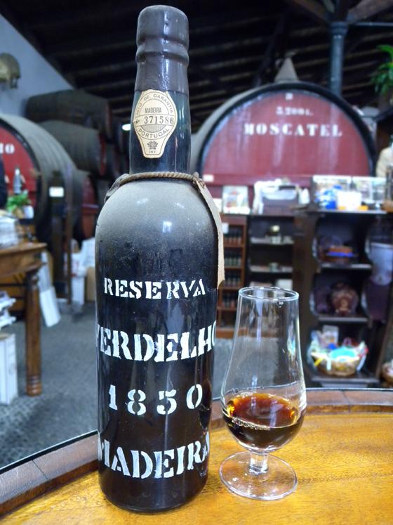 Verdelho 1850 D'Oliveira pour la seconde fois