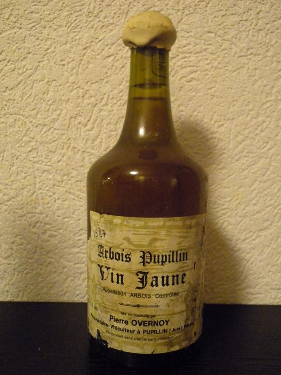 Vin Jaune 1987 de Pierre Overnoy