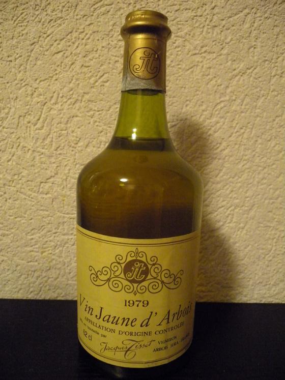 Vin Jaune d'Arbois 1979 de Jacques Tissot