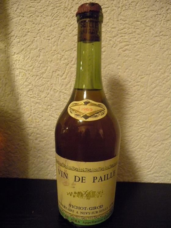 Vin de Paille 1969 de Vichot-Girod