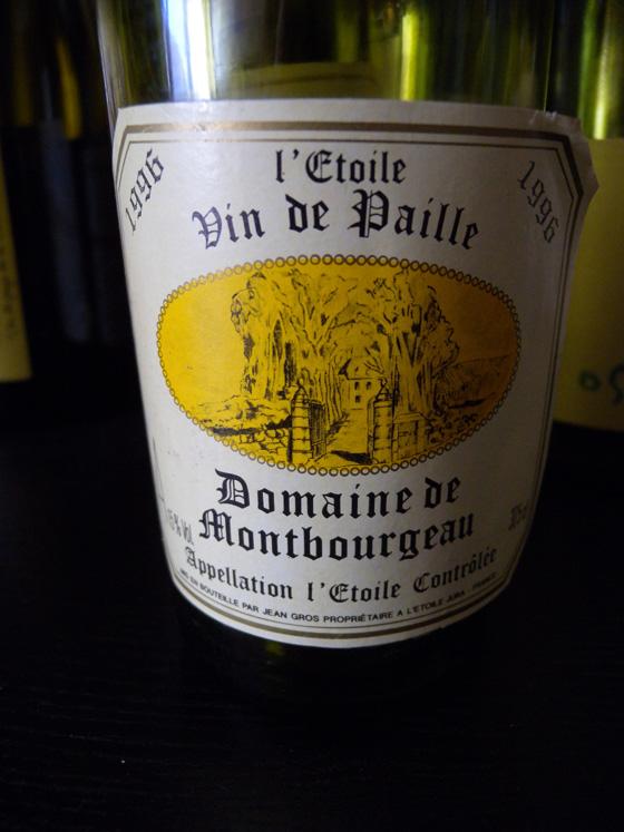 Vin de Paille de l'Etoile du Domaine de Montbourgeau 1996