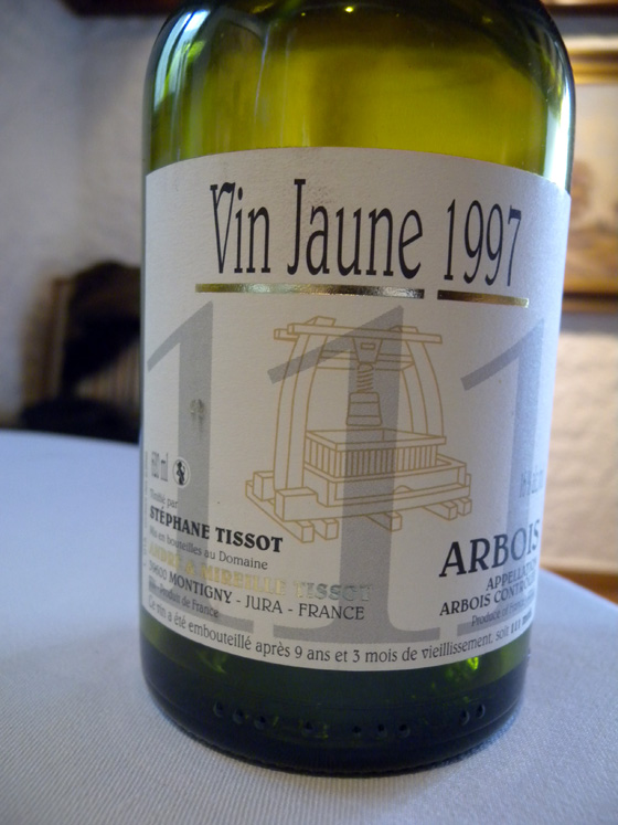 Vin jaune 111 1997 de Stéphane Tissot