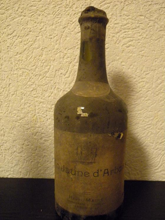 Vin jaune 1935 d'Henri Maire