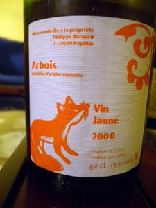 Vin jaune 2000 de Philippe Bornard