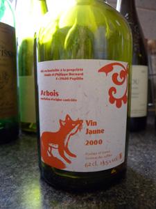 Vin jaune Bornard 2000