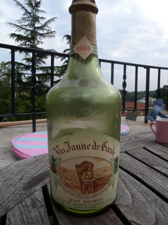 Vin jaune de Jean Bourdy 1966