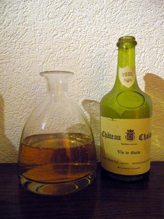 Vin jaune de Macle 1981