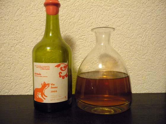 Vin jaune de Philippe Bornard 2000