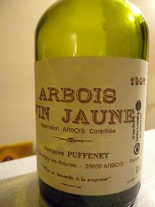 Vin jaune de Puffeney 1997