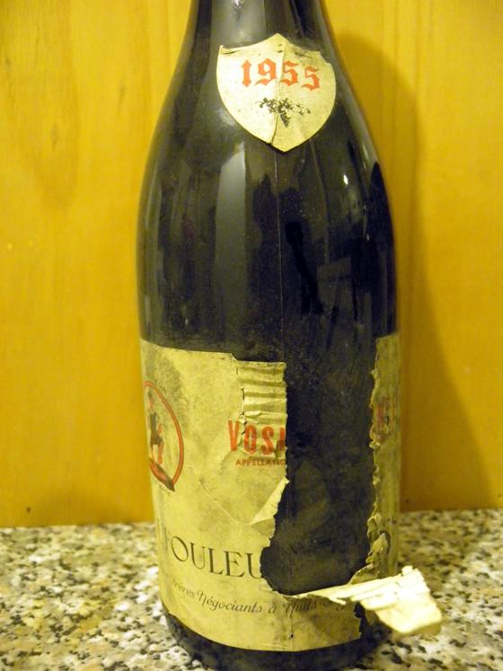 Vosne-Romanée 1955 de Dufouleur Frères