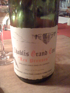 chablis grand cru Les Preuses 2006 de Dauvissat