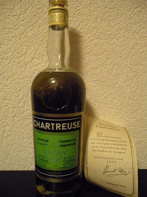 chartreuse verte de Tarragone 1977