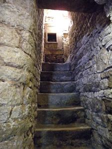 escalier chez Bornard