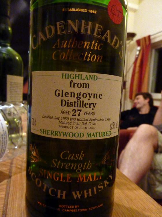 glengoyne 27 y cadenhead's