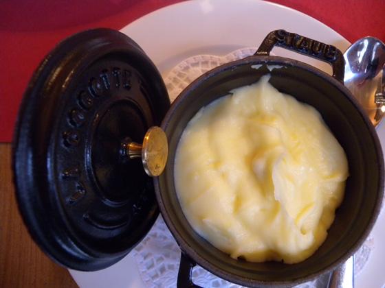 la fameuse purée de pomme de terre