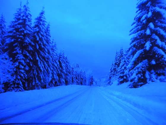 la route blanche