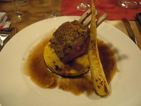 l'agneau du Sisteron en plat