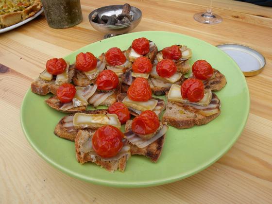 lard et tomates