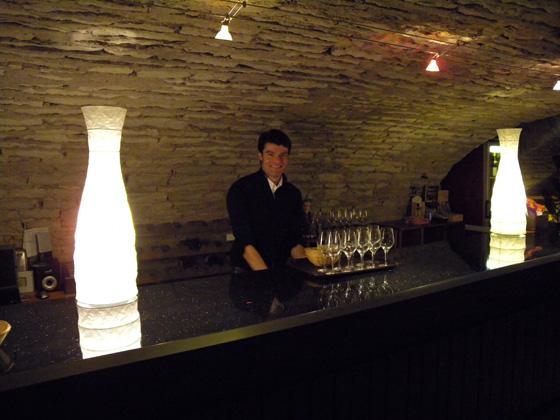 le bar de la cave de l'Abbaye