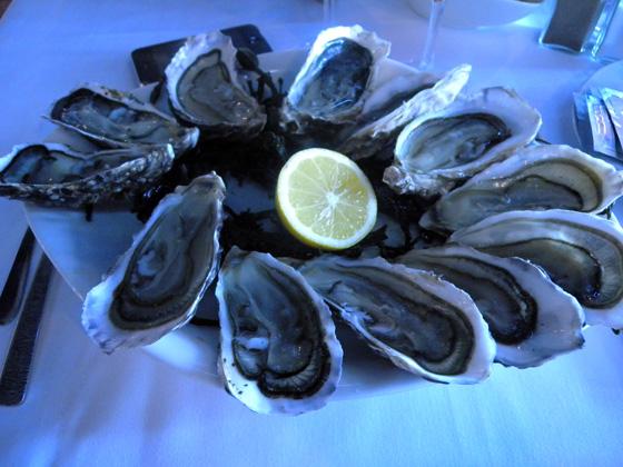 les huîtres d'Arcachon