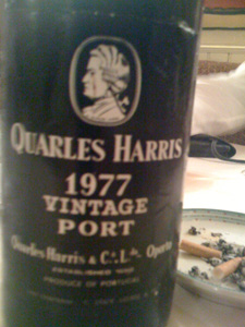 porto Quarles Harris vintage Port 1977