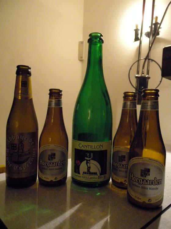 quelques bières pour la digestion