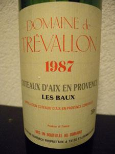 trevallon 1987