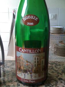 une gueuze Cantillon 2006