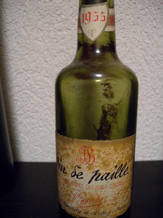 vin de paille bourdy 1955